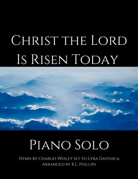 Christ the Lord Is Risen Today - Late Intermediate Piano Solo webcover
