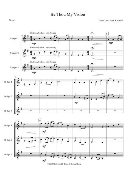 Be Thou TPT Trio Score 1