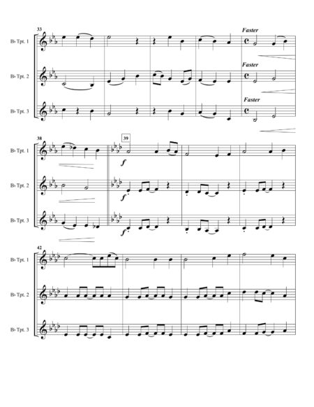 Be Thou TPT Trio Score 3