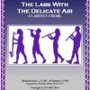 509 FC The Lass with the Delicate Air Clarinet Duet and Clarinet Choir Score and Parts