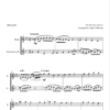 Forty Days and Forty Nights, for Flute and Clarinet