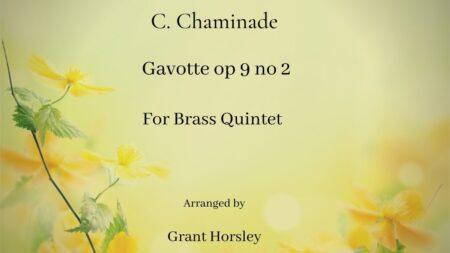 Chaminade Gavotte Brass Q