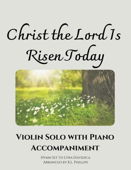 Christ the Lord Is Risen Today - Violin Solo with Piano Accompaniment webcover