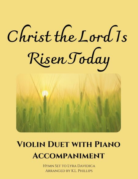 Christ the Lord Is Risen Today - Violin Duet with Piano Accompaniment webcover