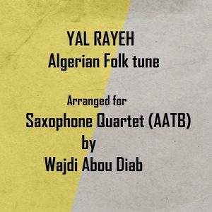 YAL RAYEH – SAX Quartet