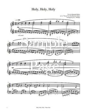 Holy, Holy, Holy – Piano Solo