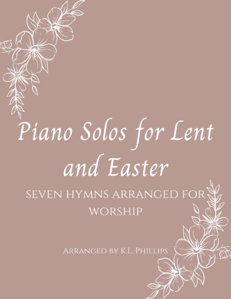 Piano Solos for Lent and Easter webcover