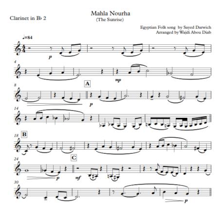 mahla nourha clarinet 3