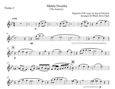 mahla nourha violins 3