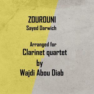 ZOUROUNI – Clarinet Quartet