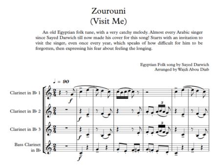 Zourouni clarinet 1