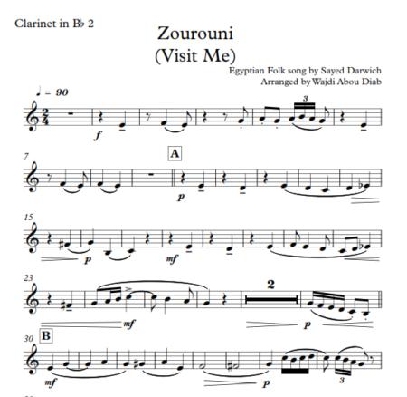 Zourouni clarinet 3