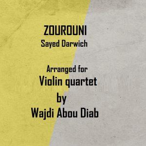ZOUROUNI – Violin Quartet