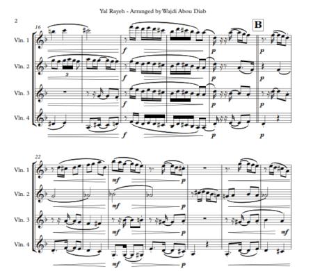 Yal Rayeh violin 2