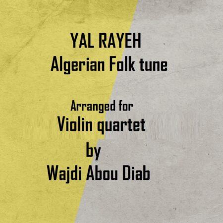 yal rayeh cover violin