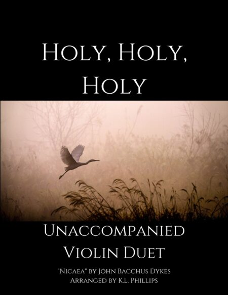 Holy, Holy, Holy - Unaccompanied Violin Duet webcover