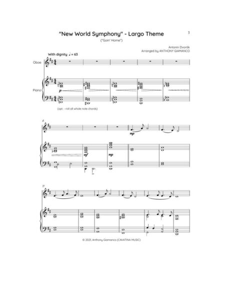 Score, pg. 1