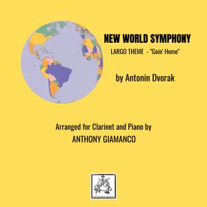 NEW WORLD SYMPHONY (Largo) – Clarinet and Piano
