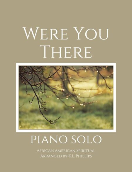 Were You There - Piano Solo webcover