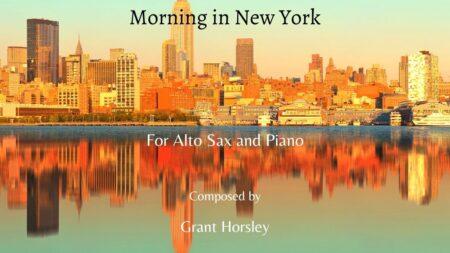 Morning in New York alto