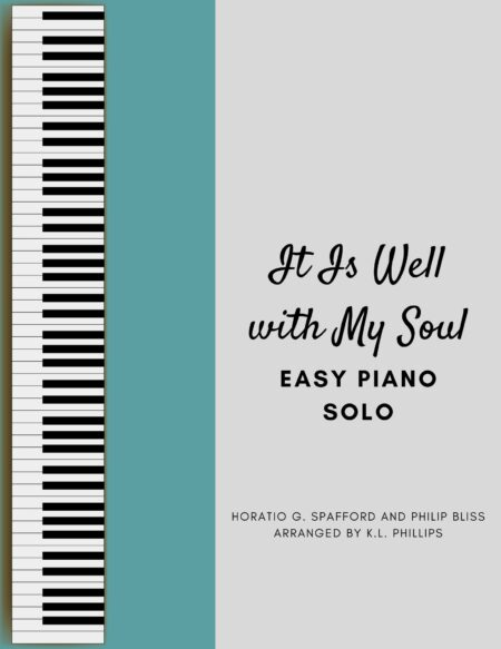 It Is Well With My Soul - Easy Piano Solo webcover