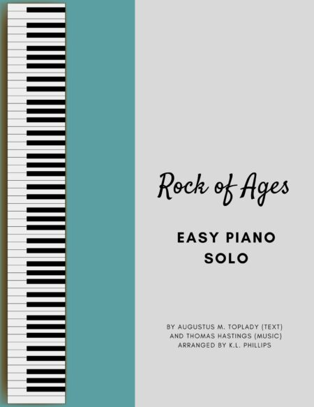 Rock of Ages - Easy Piano Solo webcover