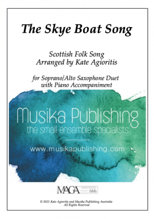 The Skye Boat Song – Soprano and Alto Saxophone Duet