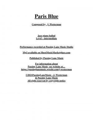 Paris Blue – MP3