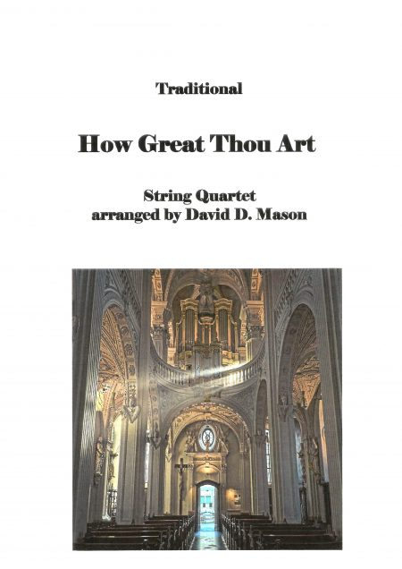 How Great Thou Art String Quartet Front Page scaled