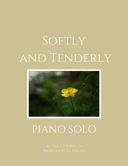 Softly and Tenderly - Piano Solo webcover