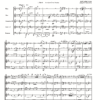 First page of the sheet music for Vaughan Williams Folk Song Suite arranged for wind quintet