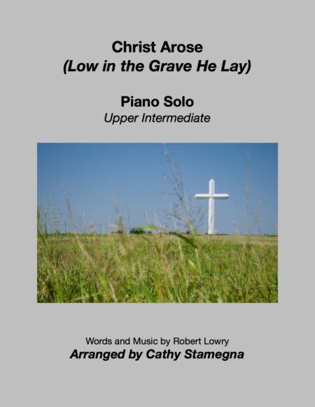 Piano Christ Arose title JPEG