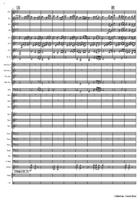 521 Calon Lan Concert Band SAMPLE page 002