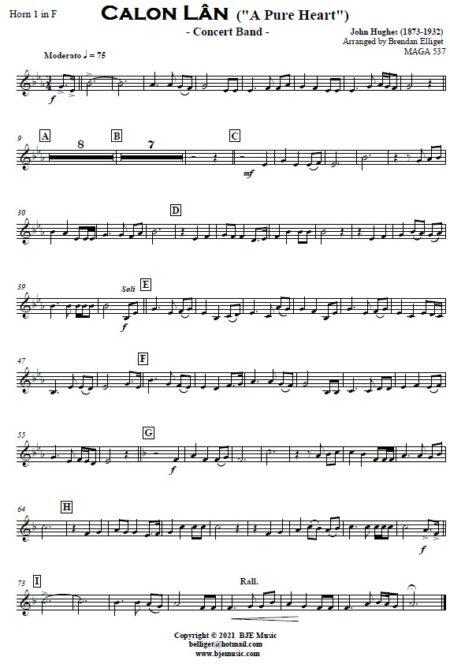 521 Calon Lan Concert Band SAMPLE page 006