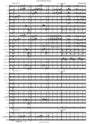Toccata Brillante Op.144 for Concert Band by Algernon Ashton