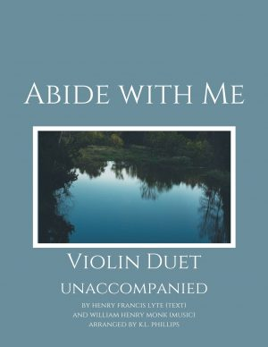 Abide with Me – Unaccompanied Violin Duet