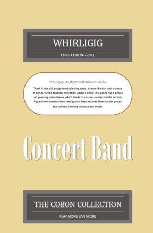 Whirligig for Concert Band