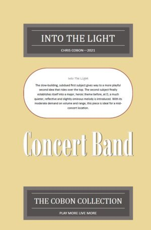 Into The Light for Concert Band