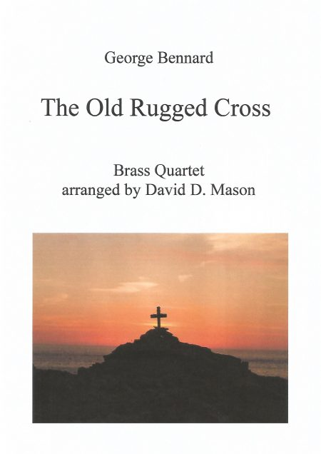 The Old Rugged Cross Brass Quartet Front cover scaled