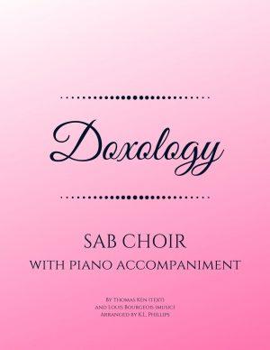 Doxology – SAB Choir with Piano Accompaniment