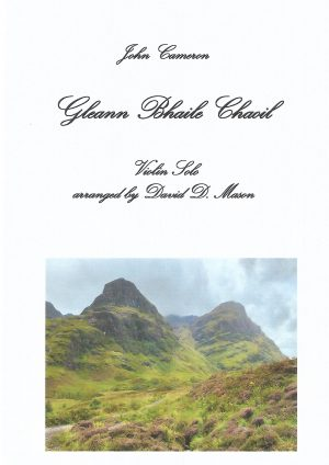 Gleann Bhaile Chaoil – Violin Solo with Piano accompaniment