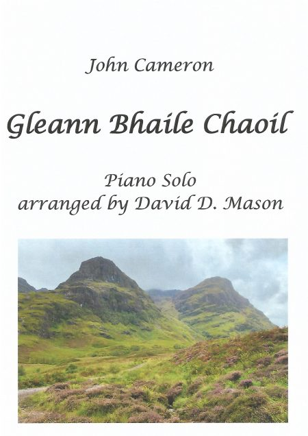 Gleann Bhaile Chaoil Piano front cover scaled