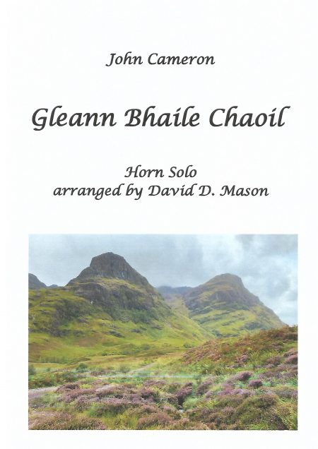 Gleann Bhaile Chaoil Horn Front Cover scaled