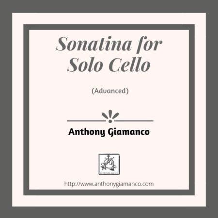 SONATINA FOR SOLO CELLO advanced