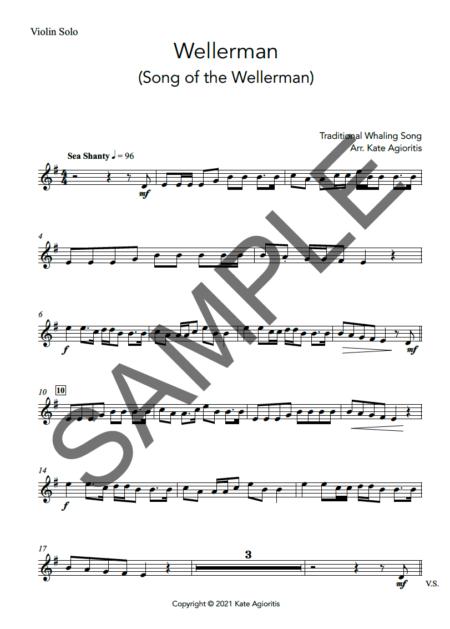 Wellerman Violin Sample