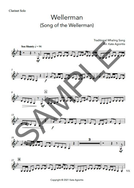 Wellerman Clarinet Sample p7tryd