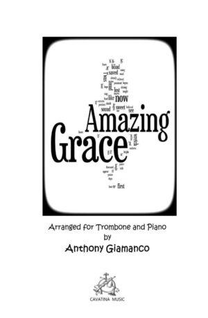 Amazing Grace – Trombone and Piano
