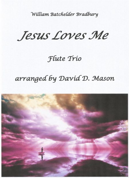 Jesus Loves Me Flute Trio Front Cover scaled
