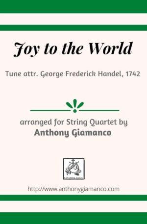 JOY TO THE WORLD – string quartet