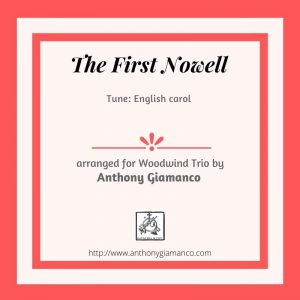 The First Nowell – Woodwind Trio